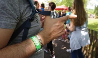 bracelet personnalisé en vynile