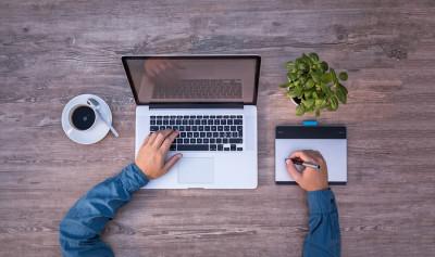 Laptop rédaction