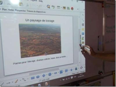 communication_blog Usages et impactes sur le tableau blanc interactif