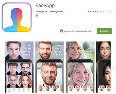 FaceApp_l'appli à succès du moment