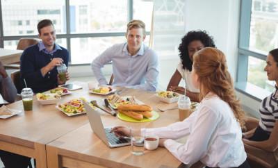 déjeuner d'entreprise